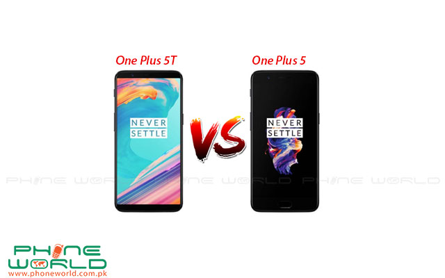 OnePlus 5T vs OnePlus 5: Major Key Differences