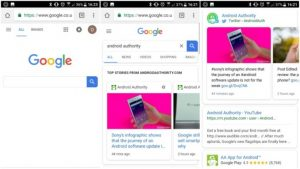 Google Redesign Mobile Web by Adding Brighter & Curve Interfaces