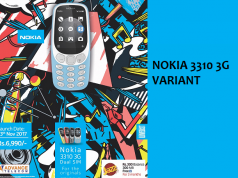 Nokia 3310 Variant with 3G Network Launched in Pakistan at Rs 6900