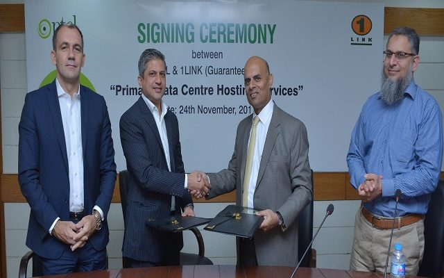 Ptcl 1link Sign Agreement For Hosting Their Primary Data Center