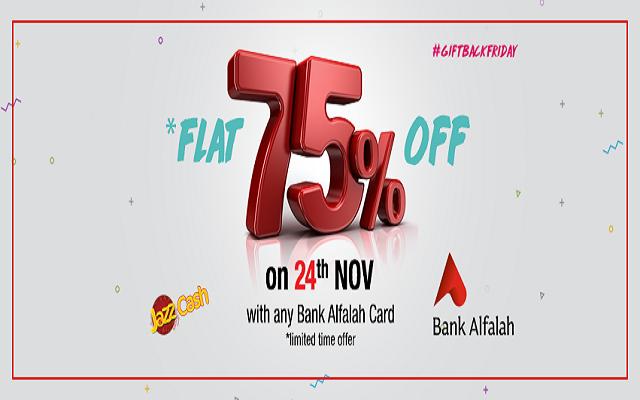 TCS Sentiments Offers Flat 75% Off for Bank Alfalah Customers