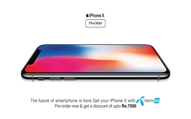 Telenor Offers Pre-ordering of iPhone X with an Exclusive Discount