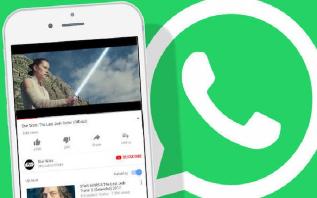 WhatsApp now lets users play YouTube videos without leaving chats
