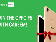 Book a Careem & Get Chance to Win OPPO F5