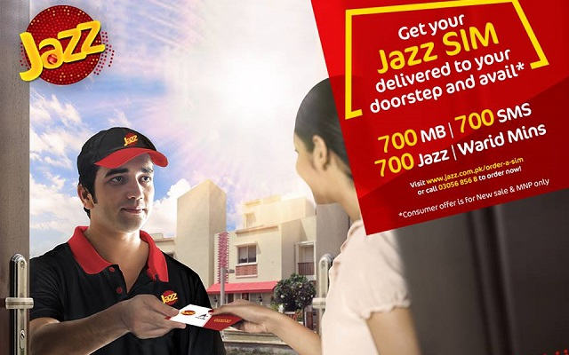 Now Order Your Jazz SIM Online and Get Delivered to Your Doorstep