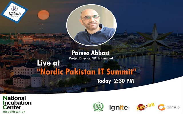NIC to go Live From Sweden at Nordic Pakistan IT Summit