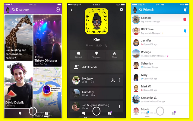 Snapchat Redesigns its App to Separate Social from the Media