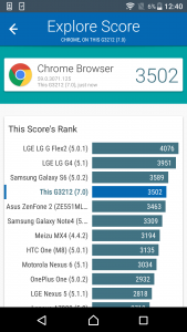 sony xperia xa1 ultra vellamo scores and comparison
