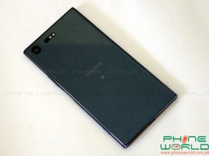 sony xperia xz premium back body