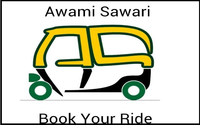 Awami Sawari Client-A Rickshaw Ride Hailing App to Compete Careem & Uber Launches in Lahore