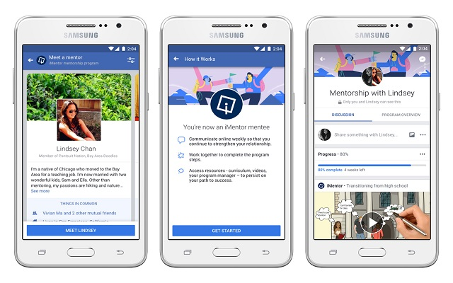 Photo of Facebook's New Community Tools Help You Become a Mentor