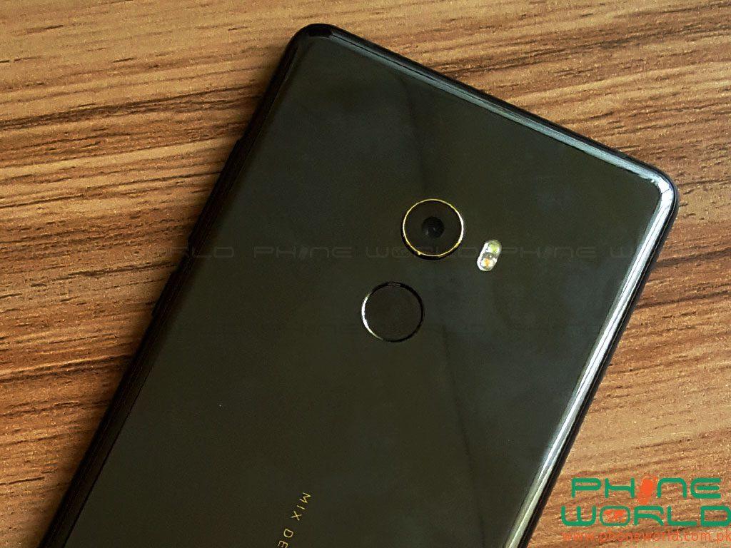 xiaomi mi mix 2 back camera fingerprint sensor