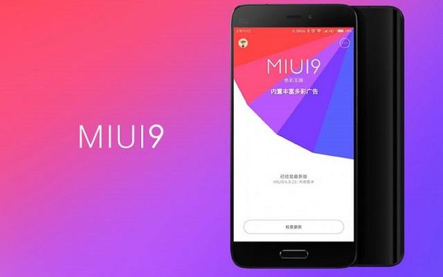 Xiaomi MIUI 9 Global Rollout Begins