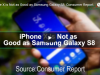 iPhone X is Not as Good as Samsung Galaxy S8: Consumer Report