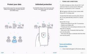 Samsung Galaxy Note 8 got Secure WiFi VPN Service in New Software Update
