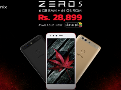 Infinix's Latest Flagship Smartphone, Zero 5, Exclusively Available on Daraz.pk