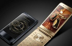 Samsung Launches Flip Phone W2018