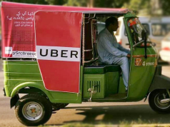 Uber Launches Affordable Rickshaw Service UberAUTO in Rawalpindi Today