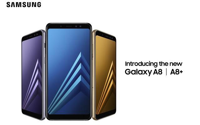 Samsung Announces Mid-Range Galaxy A8 and A8 Plus