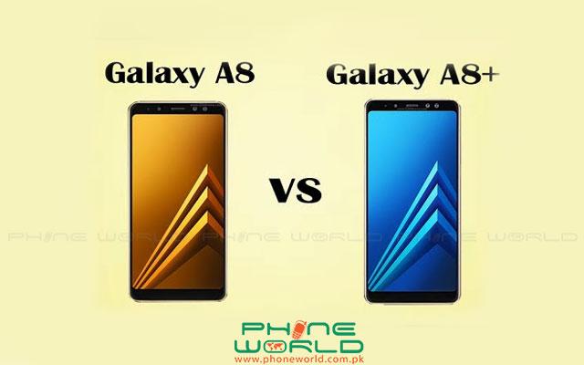 Samsung Galaxy A8 vs A8+(2018)
