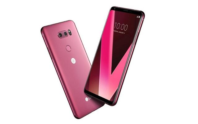 LG V30 Raspberry Rose Variant