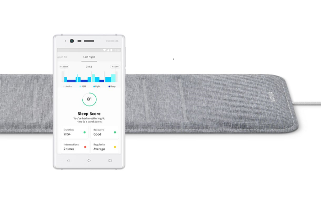 Nokia Introduces a New Sleep Sensor