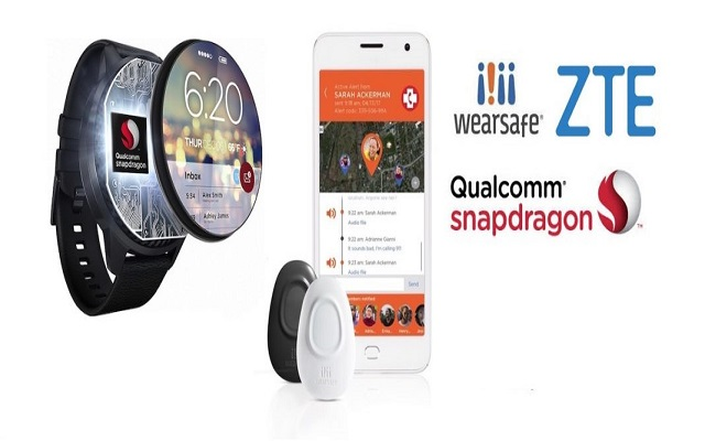 Qualcomm Partners with ZTE to Build Personal Safety Trackers