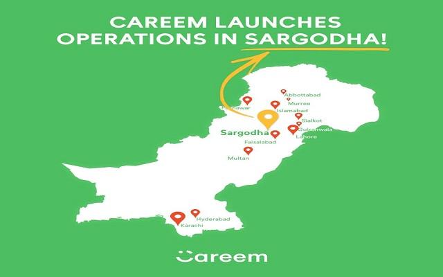 Careem Launches Operations in Sargodha