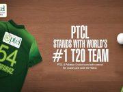 PTCL Congrats Pakistan Cricket Team on winning T20I series