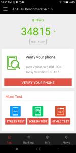 qmobile qinfinity antutu scores and comparison