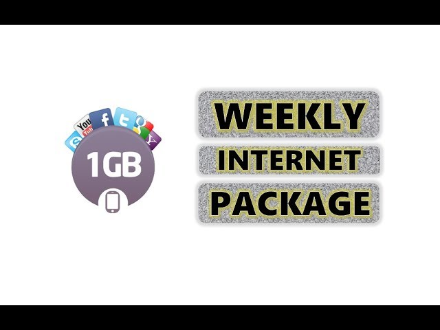 Photo of 1GB Weekly Internet Package