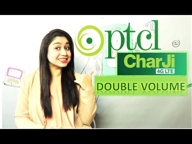 Photo of PTCL CharJi DOUBLE Volume Offer