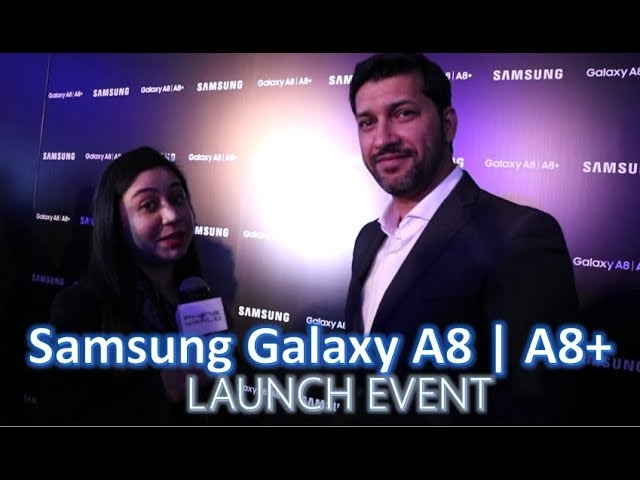 Photo of Launch Event of Samsung Galaxy A8 and Galaxy A8 Plus in Lahore