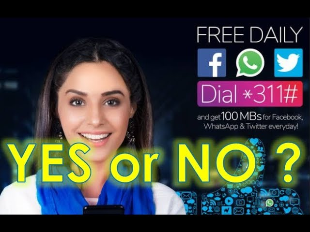 Photo of Telenor Free Facebook, Twitter And Whatsapp
