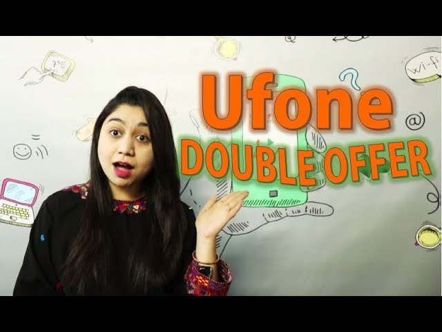 Photo of Ufone New SIM Double Offer | Packages & Offers