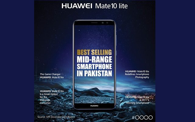 Huawei Mate 10 lite Crowned as the Top-selling Mid-range Smartphone