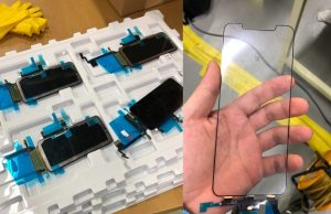 Here is the Leaked First Look of iPhone X Plus Display with Notch