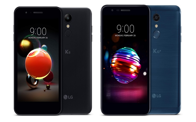 LG Unveils More Advanced K10 and K8 Series Smartphones at MWC