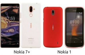 Nokia 1 & Nokia 7 Plus Devices Leaked ahead of MWC18