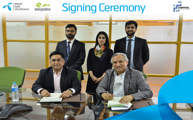 Telenor Bank Signs Agreement with TEZ Financial Services for Disbursement of Nano-Loans