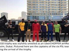 Uber Airlifts Trophy of Pakistan's Biggest Cricket Gala