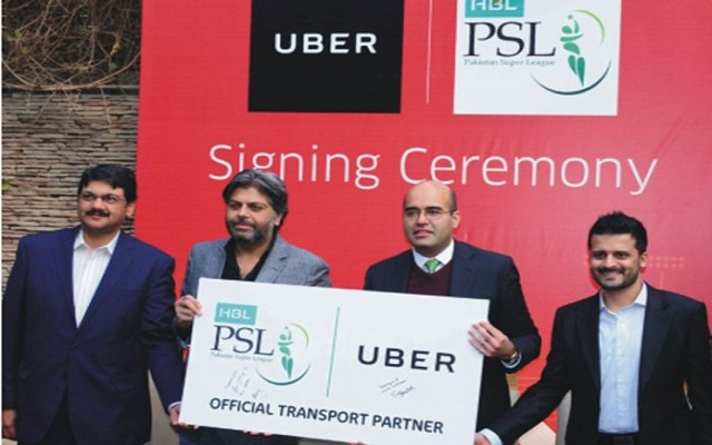 Uber Gets on the Cricket Pitch for HBL PSL 2018