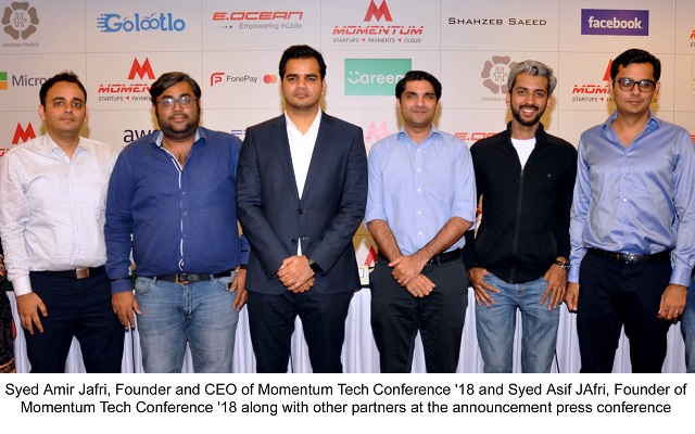 Momentum '18-The leading Tech and Startup Conference & Exhibition to Start Next Week