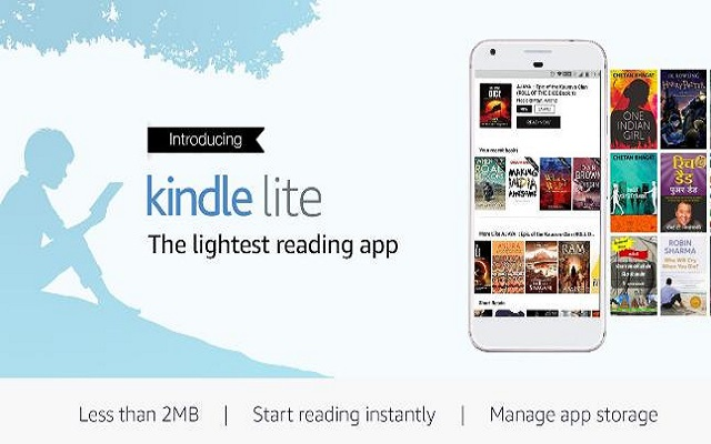 Amazon Launches Kindle Lite App for Slower Internet Connections