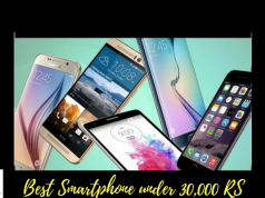 Best Smartphones of March 2018 Under 30,000 Rs in Pakistan