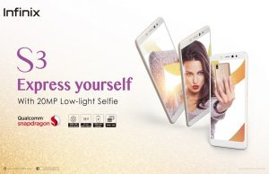 Infinix Launches its Advanced Selfie Smartphone S3 Exclusively on Goto.com.pk