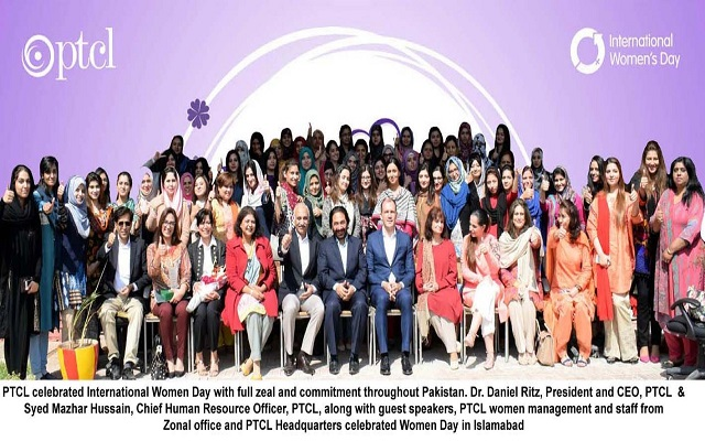 PTCL to Celebrate International Women Day Across Pakistan