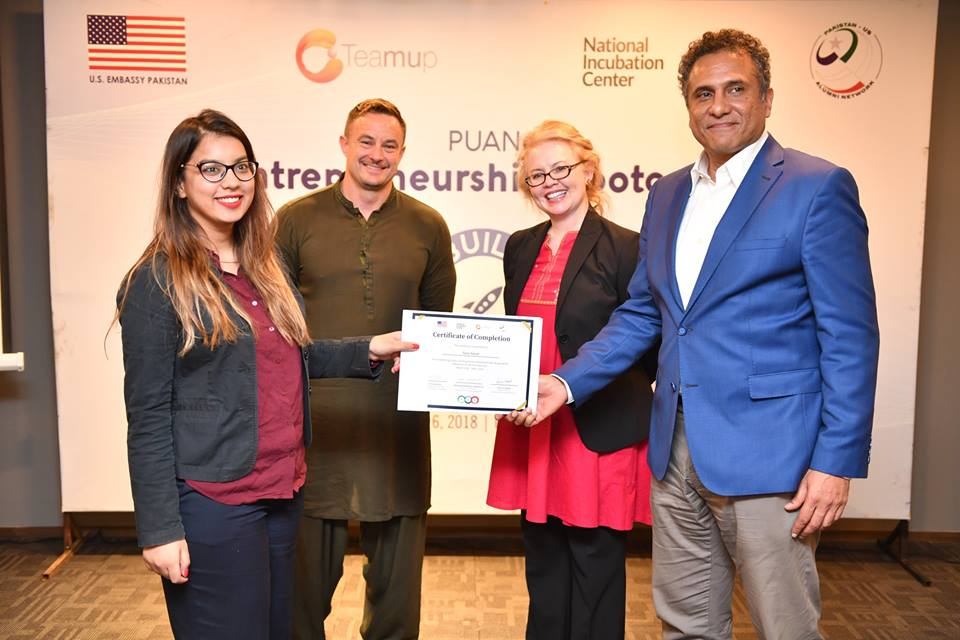 Teamup in collaboration with PUAN Successfully Concludes Its Five–Day Entrepreneurship Bootcamp at NIC