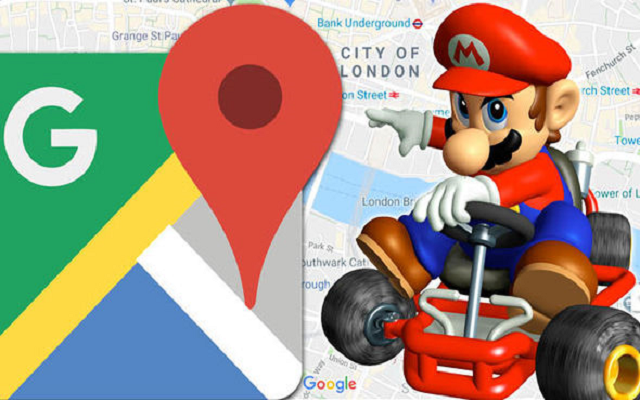 Super Mario Invades Google Maps On Mario S Day Phoneworld