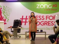 Zong 4G celebrates International Women's Day